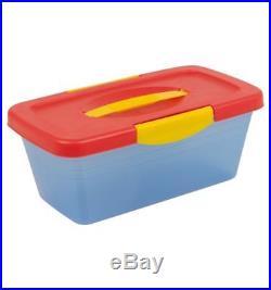 10 x Piece Play Dough 34PCS Set Mini Carry Case Craft Shapes Gift Childrens Toys
