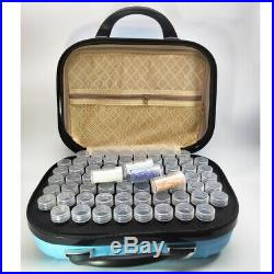 132 Slot Storage Carry Case Handbag Tool Box + Bottles 4 Diamond Painting Beads