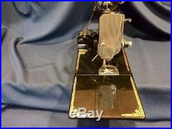 1951 Vintage Singer Featherweight Model 221 Sewing Machine with Bobbin Carry Case