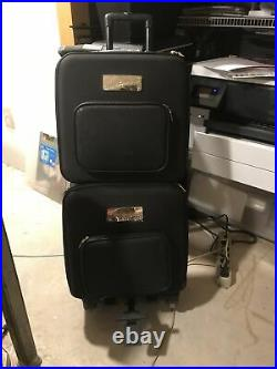 2 Close To My Heart Designer Travel Carry-all Cases with trolley &paper Inserts