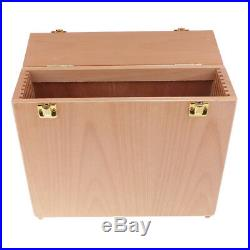 2pcs Wooden Paintings Canvas Carrier Accessories Carrying Case Storage Box