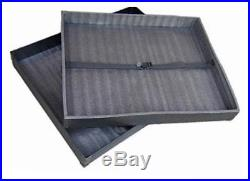 (33x42x3) hard sided art shipping & carrying case for poster boards, art