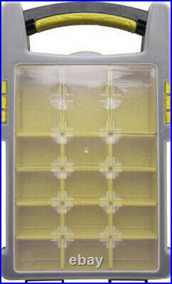 4 x Storage Case DIY Organiser Parts Carry Tool Box Screw Craft Statonary Sewing