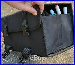 75 Copic Markers + Copic Multi Liner + Carrying Case