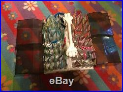 80 Used Tubes Artex Roll-On Fabric Paint With Carrying Case Pre-owned