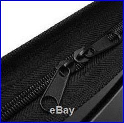 A1 A2 A3 Art Portfolio Folder Carry Case Set in Rigid Faux Leather & FlexiFabric