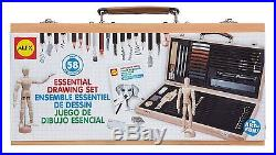 ALEX Toys Artist Studio Portable Essential Drawing Set with Wood Carrying Case