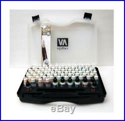 Acrylicos Vallejo Panzer Ace Range Box Set with Carry Case