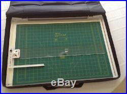 Alto's Quilt Cut Fabric Cutting System 29 1/4 x 20 With Carry Case