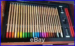 Art 101 141-piece wood art set with carrying case