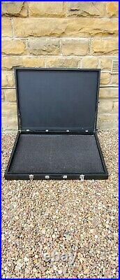 Art Gallery Artwork Painting Portfolio Large Carry Case Hard Case Black Leather