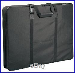 Art Portfolio Bag 32x42 Soft Sided Artist Drawing Case Carrying Storage Sketch