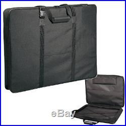 Art Portfolio Case Bag Shoulder Carrying Drawing Artist Sketch Storage 24 x 36