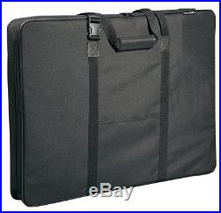 Art Portfolio Case Bag Shoulder Carrying Drawing Artist Sketch Storage 36 X 24
