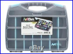 Artbin Atb6876ag Quick View Carrying Case 12 5 Aqua