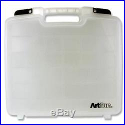 Artbin Clear Strong Art + Craft Hobby Storage Carrying Case X Large (15x14)