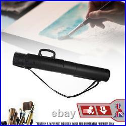Artwork Portfolio Carry Case Storage Box Extendable Print Holder Tube Roll Draw