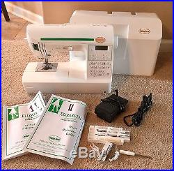 BABY LOCK ELIZABETH SEWING MACHINE Model BL200A Carrying Case Extras