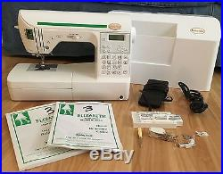 BABY LOCK ELIZABETH SEWING MACHINE Model BL200A Carrying Case Extras REDUCED