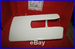 BERNINA 830 Red Hard Sewing Machine Storage Carrying Case VINTAGE Exc Used Cond