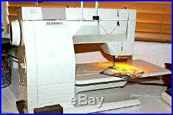BERNINA 930 Record EXCELLENT CONDITION WITH CARRYING CASE & ACCESSORIES
