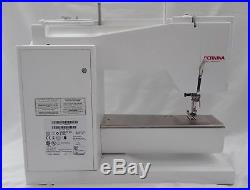 BERNINA ACTIVA 130 SEWING MACHINE With 3 PRESSER FEET CARRYING CASE & ACCESSORIES