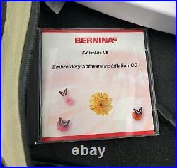 BERNINA Embroidery Module Aurora 430/440 Hoop Carry Case EditorliteV5 Software