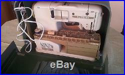 Bernina Record 730 With Accessories And Carrying Case Pristine Condition