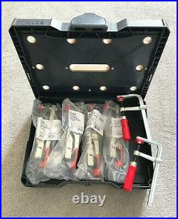 BESSEY STC-S-MFT Systainer Toggle clamp 12 pc Set Including Carry Case Trade cut
