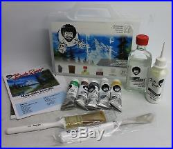 BOB ROSS 750006505 Basic Oil Colour Landscape Painting Set In Carrying Case
