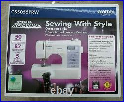 BROTHER CS5055PRW Project Runway Electric Sewing Machine 50 Built-in stitches