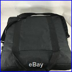 Baby Lock Black Carrying Travel Bag Case Rectangle Sewing Embroidery Carry Strap