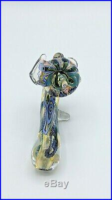 Beautiful Hand Crafted Tobacco Pipe + Carrying Case smoking pipe multicolor