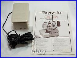 Bernette Model MO-234 Overlock Sewing Machine-WithCover, Carry Case & Manual