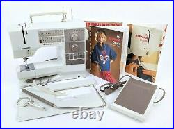 Bernina 1130 Electronic Sewing Machine With Carrying Case + Extras