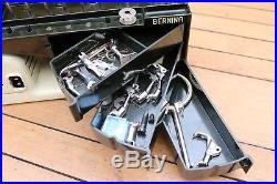 Bernina 530-2 Record Sewing Machine + Feet + Carry Case Global Shipping