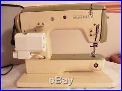 Bernina 700 Free Arm Zig zag Sewing Machine with Accessories/Carrying Case