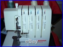 Bernina 800DL SERGER + Carrying Case & Foot Pedal