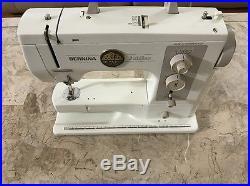 Bernina 801 Matic Sewing Machine JUBILAE Carrying Case Serviced