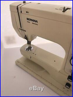 Bernina 801 Sewing Machine with pedal and Carrying Case Sews Great