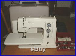 Bernina 801 Sewing Machine withCarrying Case Manual & Accessories