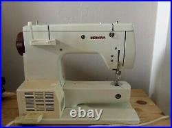 Bernina 807 Minimatic Sewing Machine Extension Table Carry Case & Instructions