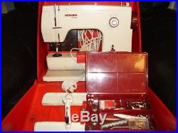 Bernina 807 Minimatic Sewing Machine with Original Carry Case