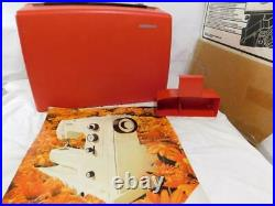 Bernina 830 Record Red Carrying Case Only Plus Weidmann 20172