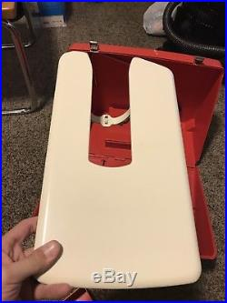Bernina 830 Record Sewing Machine RED Carrying CASE -Sturdy Shows Surface Wear