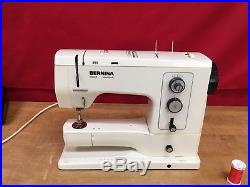 Bernina 830 Record Sewing Machine Very clean with Carrying Case & Book
