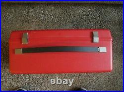 Bernina 830 Red Carrying Sewing MACHINE CASE