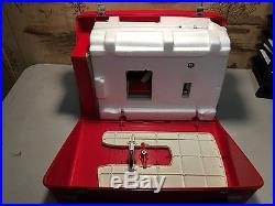 Bernina 830 sewing machine With Original Styrofoam Packing And Carrying Case