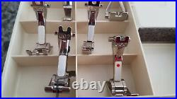Bernina 930 Record Accessories Box Case With 11 Presser Feet & Many Accessories