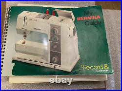 Bernina 930 Record Accessories Box Case With 15 Presser Feet Tools With Book